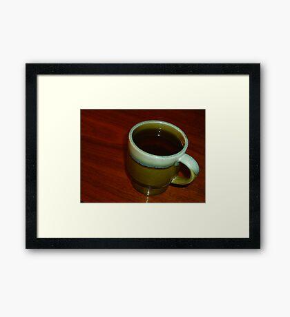 02-07-11  High Tea Framed Print