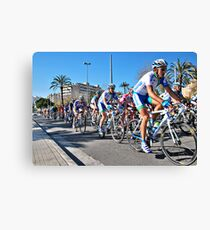 On your bike... Canvas Print