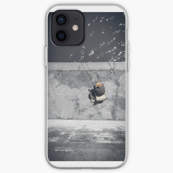 Loneliness of a fisherman iPhone Soft Case