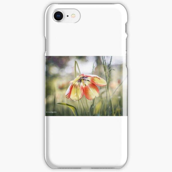 An umbrella flower iPhone Snap Case