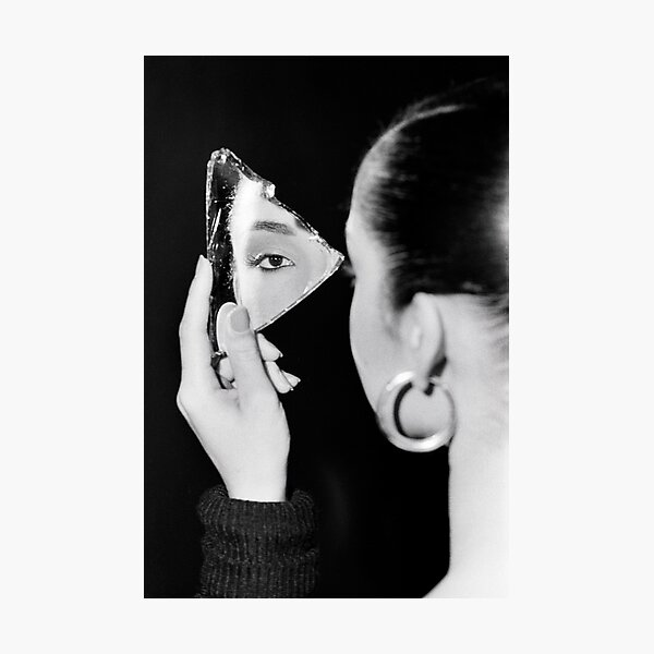 Sade in Mirror Photographic Print