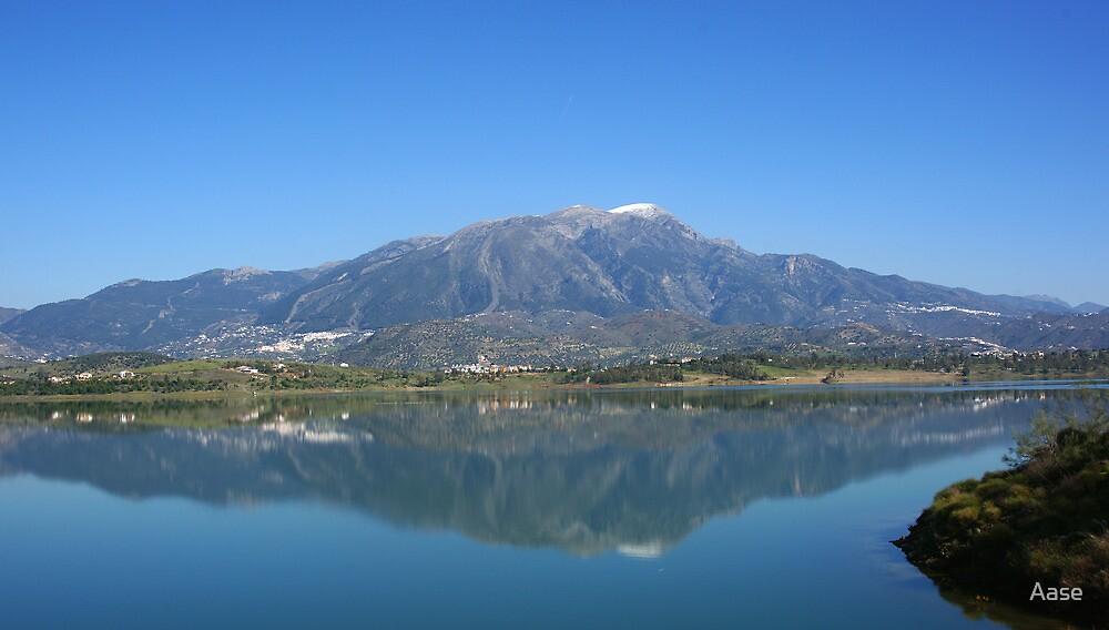 The Lake.  La Vinuela by Aase