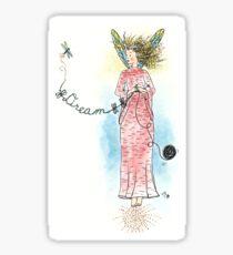 Dream - The Knittington Fairies Sticker