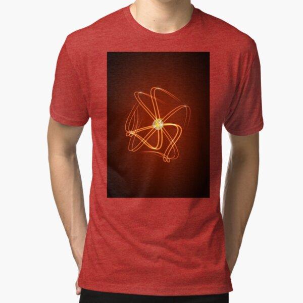 Poster Shine Style Tri-blend T-Shirt