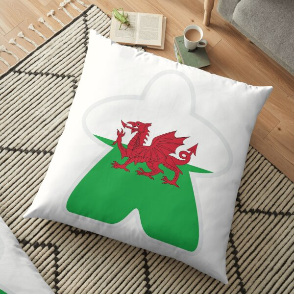Welsh Meeple Floor Pillow