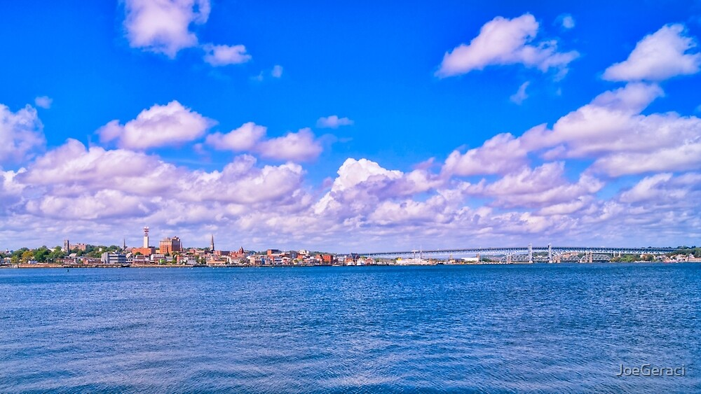 City Of New London by JoeGeraci
