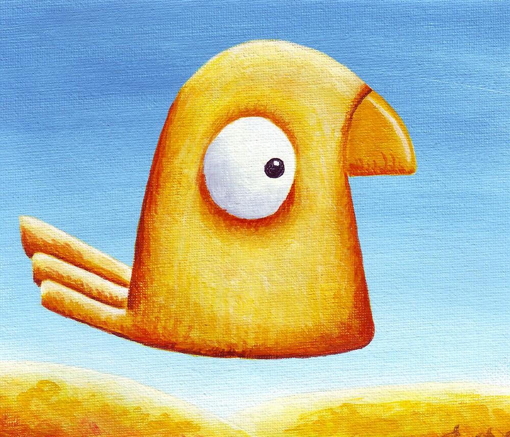 My Yellow Bird 2 by RedLlama