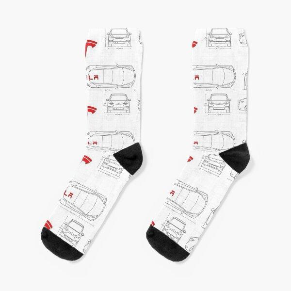 Tesla Socks