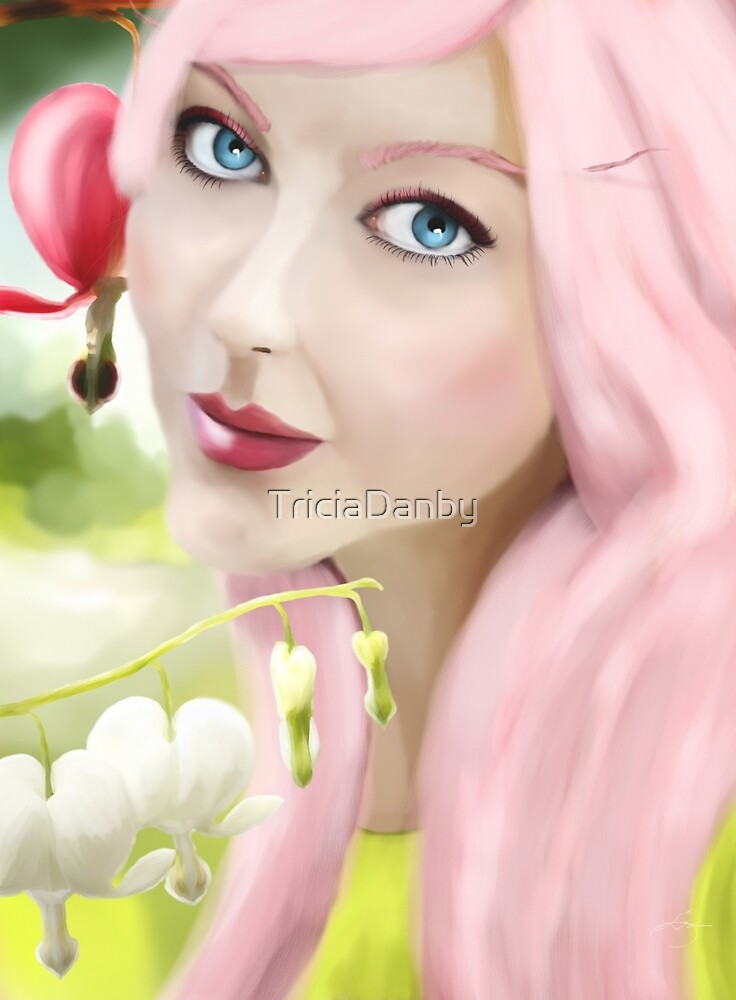 Fae of the Bleeding Heart by TriciaDanby