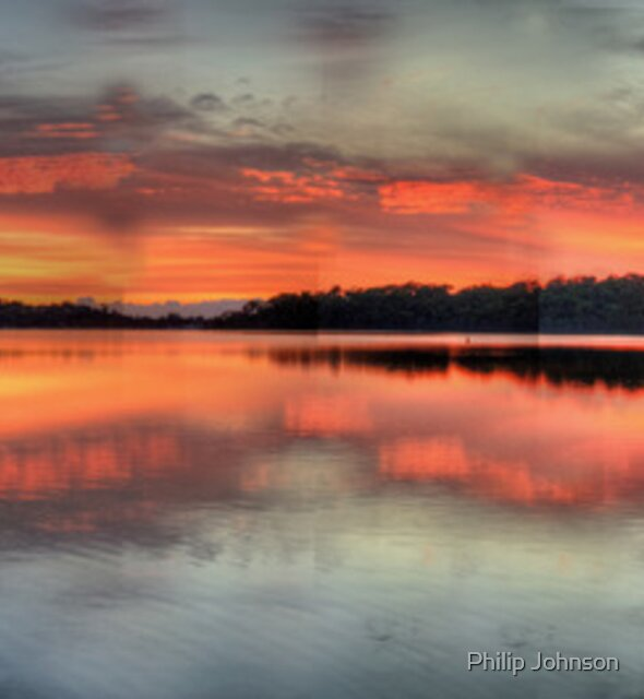 Natures Abstract - Narrabeen Lakes, Sydney Australia - The HDR Experience by Philip Johnson