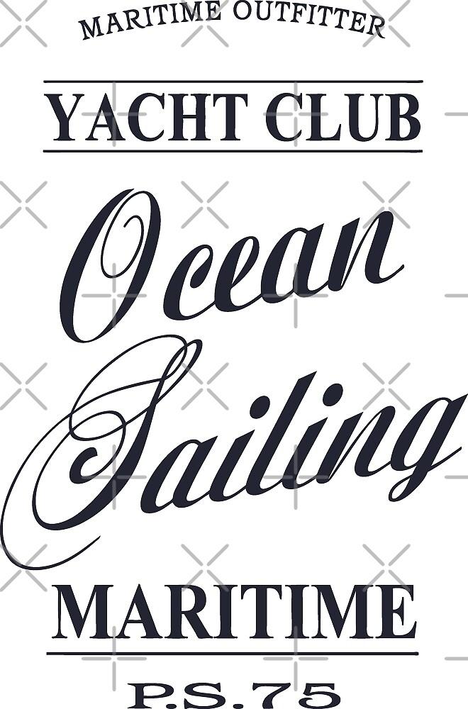 Ocean sailing by Port-Stevens