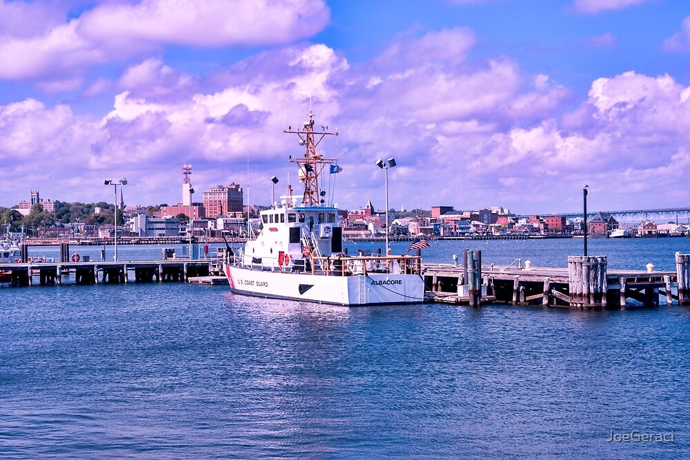 The Albacore At USCG Station New London by JoeGeraci
