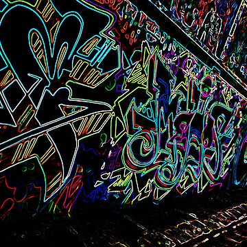 Neon Spray - Hosier Lane by shotimagery