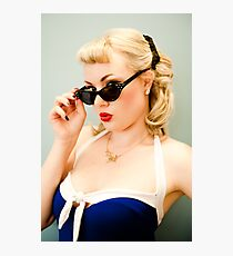 That Pinup Pout Photographic Print