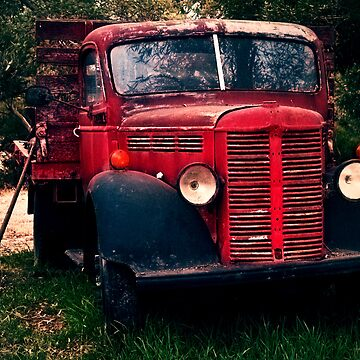 Vintage Bedford Truck by shotimagery