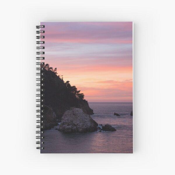 Point Lobos Sunset Spiral Notebook