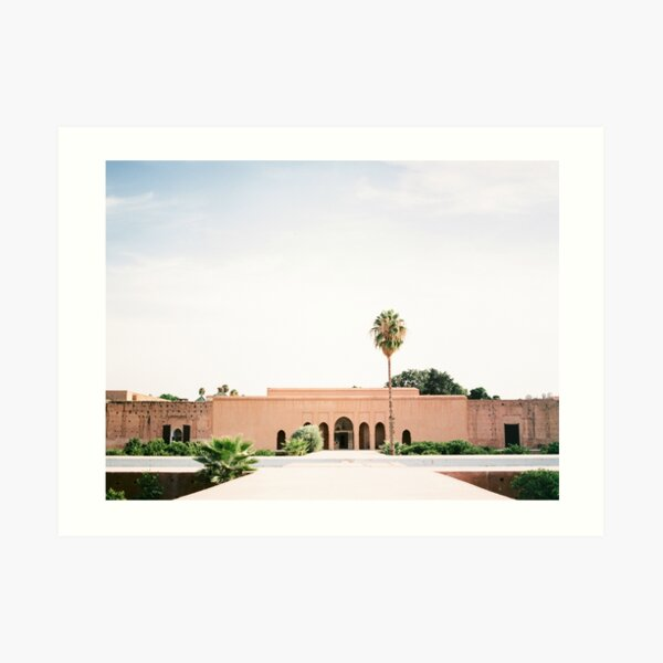 "Marrakech photography print ""El badi Palace Palais"" | Shot on film | Wanderlust photo art Morocco Art Print"