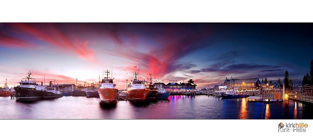 Fremantle Fishing Boat Harbor by Kirk  Hille