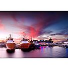 Fremantle Fishing Boat Harbor by Kirk  Hille