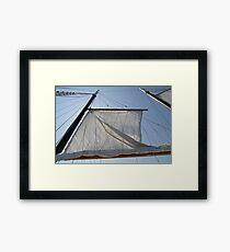Sailing in Nova Scotia Framed Print