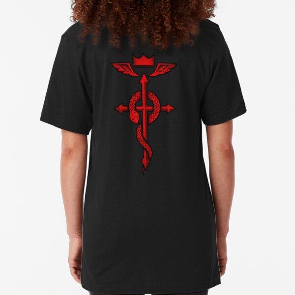 Fullmetal Alchemist Flamel Slim Fit T-Shirt