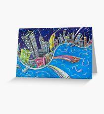 NYC Nights Greeting Card