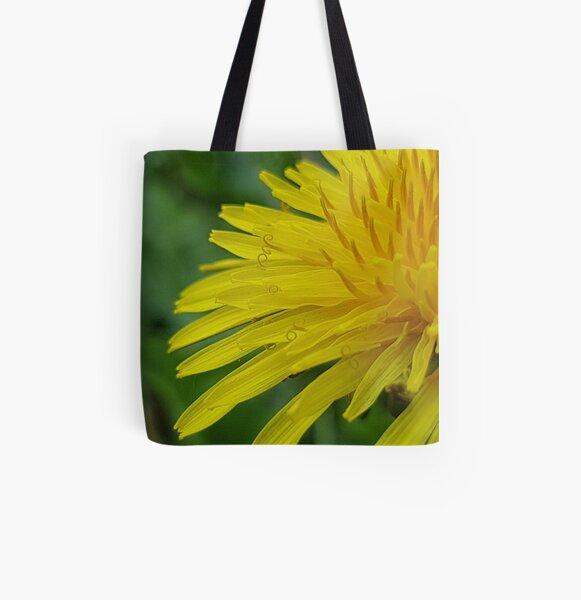 Dandelion All Over Print Tote Bag