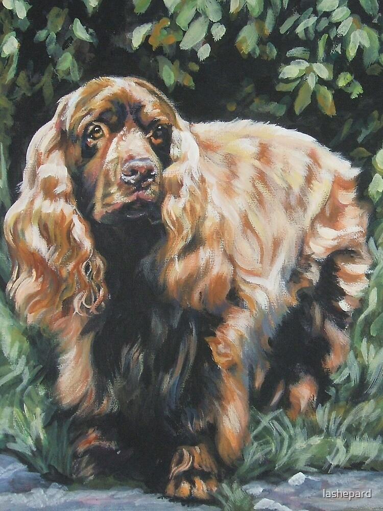 Sussex Spaniel Fine Art Painting by lashepard