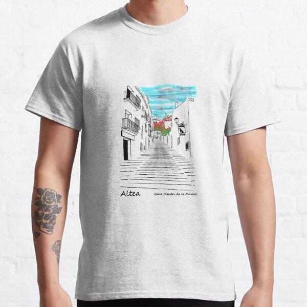 ALTEA CALLE MAESTRO DE LA MÚSICA Camiseta clásica