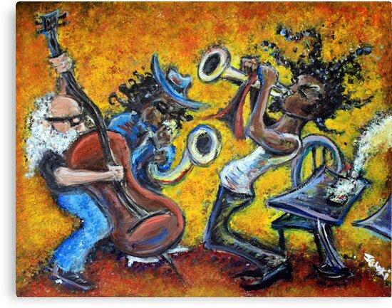 The Jazz Trio by Jason Gluskin