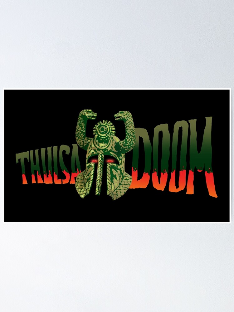 Alternate view of Thulsa DOOM Poster