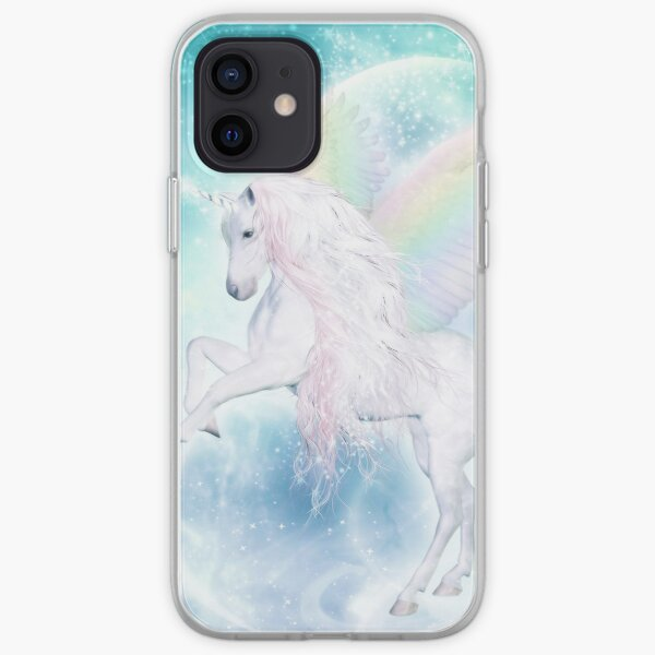 Rainbow Pegasus iPhone Flexible Hülle