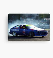 Raceline Canvas Print