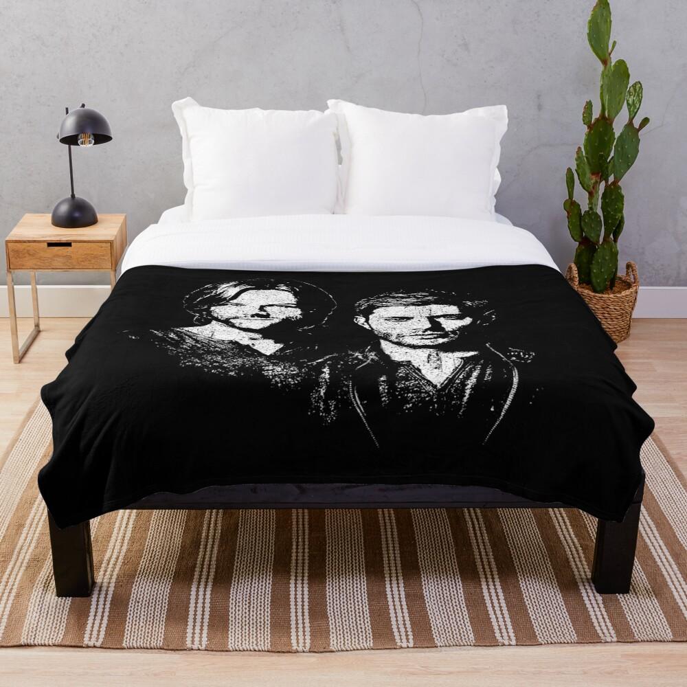 Sam and Dean Throw Blanket