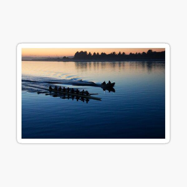 Row Team in February Sticker
