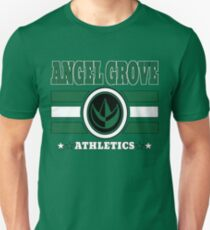 Angel Grove Athletics - Green Unisex T-Shirt