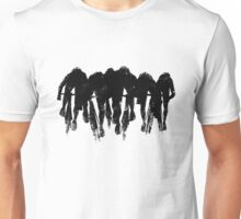 SPRINT FINISH cyclist silhouette print Unisex T-Shirt