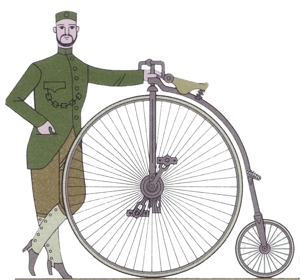 Unicycle..1886 NSU Germania Hochrad by edsimoneit