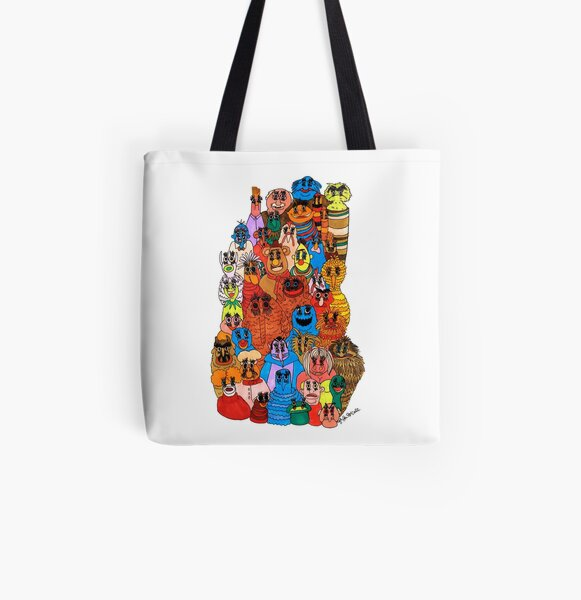 moppets All Over Print Tote Bag
