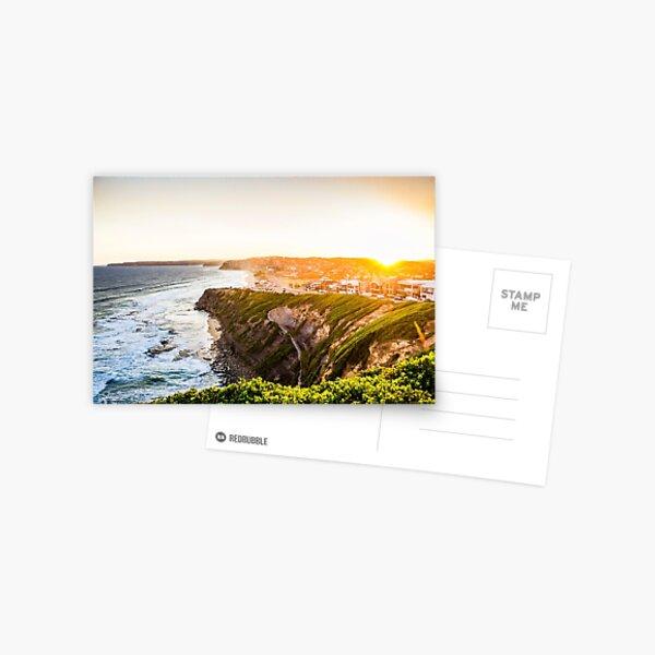 Bar Beach Sunset Postcard