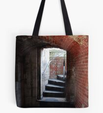 Inside the Round Tower Tote Bag