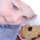 Christmas Teddy by Belinda Fletcher