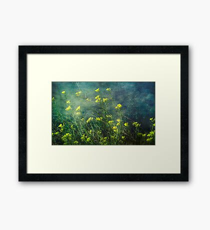 Water Weeds Framed Print