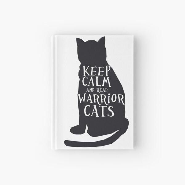 mantener la calma gatos guerreros Cuaderno de tapa dura