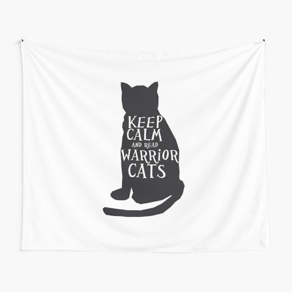 keep calm warrior cats Tapestry