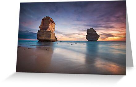 Sunset at the Apostles by Ben Ryan