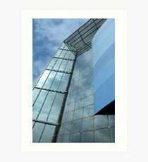 Building to the sky Art Print