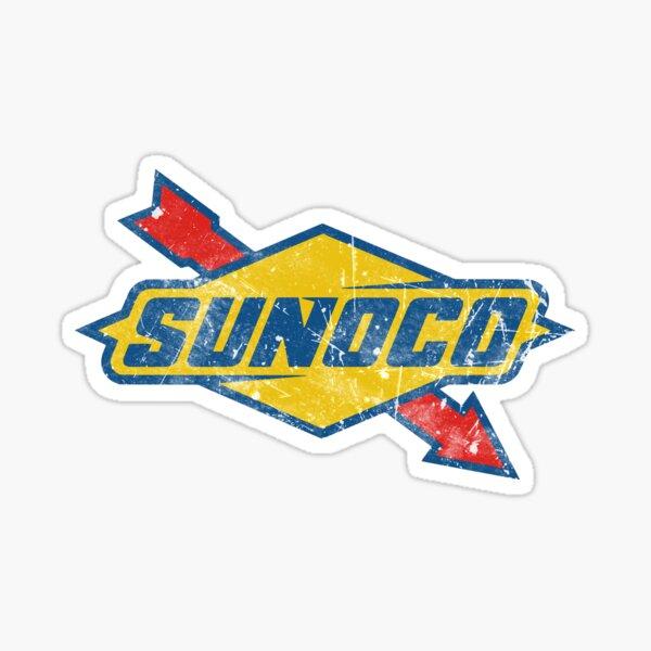 Sunoco Vintage Oil Company Sticker