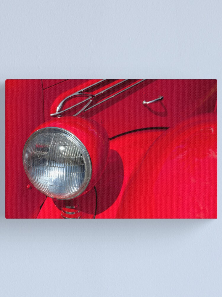 Alternate view of Red Light Canvas Print