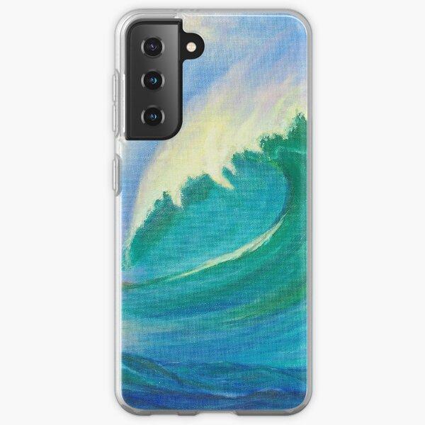 Wave Power Samsung Galaxy Soft Case